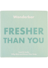 WONDERBAR - Mint & Green Clay Soap - SEIFE