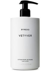BYREDO Produkte Vetyver Hand Lotion Handlotion 450.0 ml