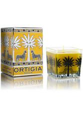 Ortigia Orange Blütenpracht- quadratische Kerze