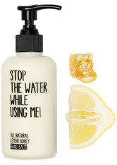 Stop the water while using me! All natural Lemon Honey Hand Balm 200 ml
