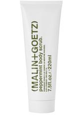 Malin+Goetz Produkte Peppermint Body Scrub Körperpeeling 220.0 ml