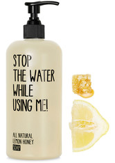 STOP THE WATER WHILE USING ME! - STOP THE WATER WHILE USING ME! Reinigung STOP THE WATER WHILE USING ME! Reinigung Lemon Honey Soap Flüssigseife 500.0 ml - Seife