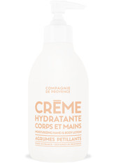 COMPAGNIE DE PROVENCE - La Compagnie de Provence Crème Hydratante Corps et Mains Agrumes Pétillants Bodylotion  300 ml - KÖRPERCREME & ÖLE