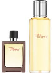 Hermès Terre d`Hermes Pour Homme EDT Geschenkset EDT 30 ml + EDT 125 ml Nahfüllbar