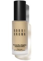 Bobbi Brown Makeup Foundation Skin Long-Wear Weightless Foundation SPF 15 Nr. 01 Warm Ivory 30 ml