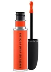 Mac M·A·C Powder Kiss Collection Powder Kiss Liquid Lipcolour 5 ml Resort Season