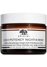 Origins Gesichtspflege Anti-Aging Pflege High-Potency Night-A-Mins Oilfree Resurfacing Cream With Fruit-Derived AHAs 50 ml