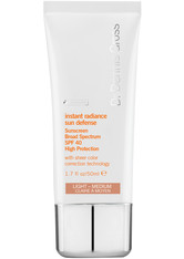 Dr Dennis Gross Instant Radiance Sun Defense SPF40 Getönte Gesichtscreme 50 ml Light - medium