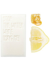 STOP THE WATER WHILE USING ME! - Stop the water All Natural Lemon Honey Bar Soap 125 Gramm - Handseife - SEIFE