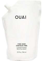 Ouai Shampoo und Conditioner Fine Conditioner - Refill Pouch Haarspülung 946.0 ml