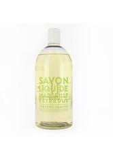 La Compagnie de Provence Savon Liquide Marseille Extra Pur Verveine Fraîche - Refill Flüssigseife  1000 ml