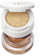 TOM FORD BEAUTY - Cream And Powder Eye Color – Golden Peach – Lidschatten - Metallic - one size