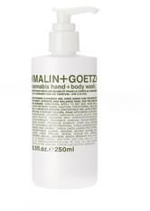 Malin+Goetz Produkte Cannabis Hand + Body Wash Körpergel 250.0 ml