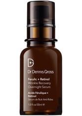 DR. DENNIS GROSS - Dr. Dennis Gross Skincare - Ferulic + Retinol Wrinkle Recovery Overnight Serum, 30 Ml – Serum - one size - Serum