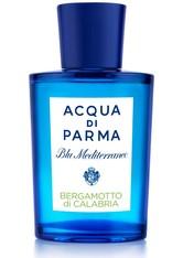 Acqua di Parma Unisexdüfte Bergamotto di Calabria Blu Mediterraneo Eau de Toilette Spray 150 ml
