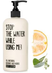 STOP THE WATER WHILE USING ME! Pflege Orange Wild Herbs Bodylotion Bodylotion 500.0 ml