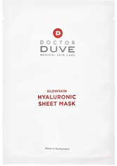 Doctor Duve Hyaluronic Sheet Mask Gesichtsmaske (5 Stück) 90 ml