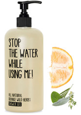 STOP THE WATER WHILE USING ME! - Stop the water while using me! All natural Orange Wild Herbs Shower Gel 500 ml - DUSCHEN & BADEN
