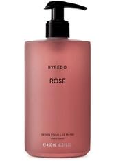 BYREDO Produkte Hand Wash Rose Handreinigung 450.0 ml