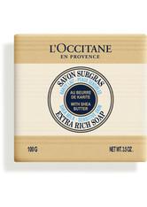 L'Occitane Shea Seife Milch 100 g Stückseife