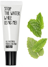 STOP THE WATER WHILE USING ME! - Stop the water while using me! All natural Morrocan Mint Lip Balm 10 ml - LIPPENBALSAM