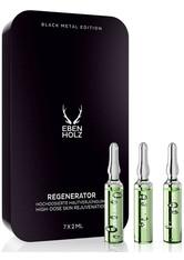 Ebenholz skincare Herrenpflege Gesichtspflege Regenerator 7 x 2 ml