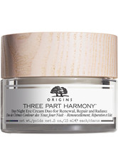 Origins Augenpflege Three Part Harmony Day & Night Eye Cream Duo for renewal, repair and radiance Augencreme 30.0 ml