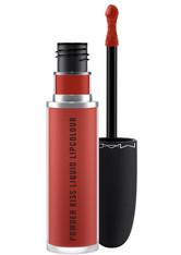 MAC - Mac M·A·C Powder Kiss Collection Powder Kiss Liquid Lipcolour 5 ml Devoted to Chili - Lipgloss