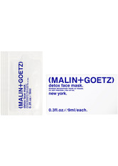 Malin + Goetz - Detox Face Mask Travel Sachets  - Reinigungsmaske