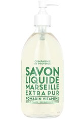 La Compagnie de Provence Savon Liquide de Marseille Revitalizing Rosemary Flüssigseife 495 ml