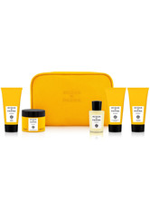 Acqua di Parma Barbiere Eau de Cologne Spray 20 ml + Barbiere Rasiercreme 40 ml + Barbiere Aftershave 40 ml + Barbiere Shampoo 40 ml + Barbiere Tonerde mit mittlerem Halt 25 g + Trousse 1 Stk