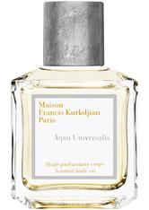 Maison Francis Kurkdjian - Aqua Universalis Body Oil, 70 Ml – Körperöl - one size