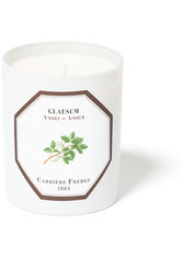 Carrière Frères Scented Candle Amber - Glaseum - 185 g