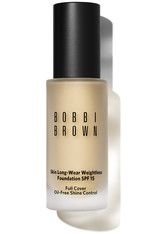 Bobbi Brown Makeup Foundation Skin Long-Wear Weightless Foundation SPF 15 Nr. 28 Ivory 30 ml