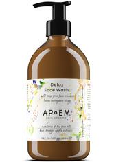 Apoem Pflege Gesichtsreinigung Detox Face Wash 300 ml
