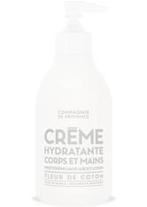 La Compagnie de Provence Crème Hydratante Corps et Mains Fleur de Coton Bodylotion 300 ml