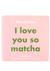 WONDERBAR - Matcha & Shea Butter Soap - SEIFE
