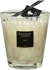 Baobab Raumdüfte Pearls Duftkerze Pearls White Max 16 1 Stk.