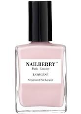 Nailberry Nägel Nagellack L'Oxygéné Oxygenated Nail Lacquer Lait Fraise 15 ml