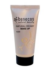 benecos Foundation Natural Creamy Make Up - Nude 30ml Foundation 30.0 ml