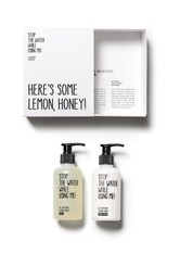 STOP THE WATER WHILE USING ME! Reinigung Lemon Honey Hand Kit Handpflegeset 1.0 pieces