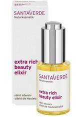 Santaverde Produkte Aloe Vera Extra Rich - Beauty Elixier 30ml Feuchtigkeitsserum 30.0 ml