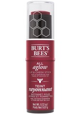 Burt's Bees 100% Natural All Aglow Lip & Cheek Stick 8.5g (Various Shades) - Dahlia Dew