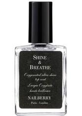 Nailberry Produkte Shine & Breathe Oxygenated After Shine Top Coat Nagellack 15.0 ml