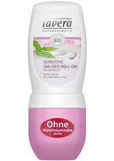 Lavera Basis Sensitiv Körperpflege Sensitive 24h Deodorant Roll-On 50 ml