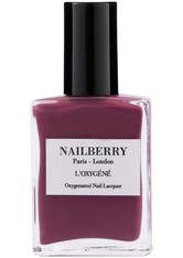 Nailberry Nägel Nagellack L'Oxygéné Oxygenated Nail Lacquer Dark Pink 15 ml