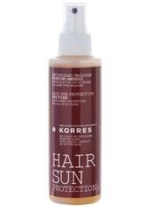 KORRES - Korres RED Vine Sonnenschutzspray für das Haar 150 ml - Sonnenspray - HAARSCHUTZ