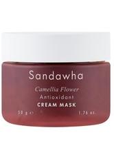 Sandawha Produkte Camellia Flower - Antioxidant Cream Mask 100g Maske 100.0 g