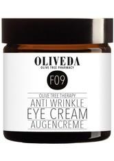 OLIVEDA - Oliveda Augenpflege Oliveda Augenpflege Anti Wrinkle Augencreme Augengel 30.0 ml - Augencreme