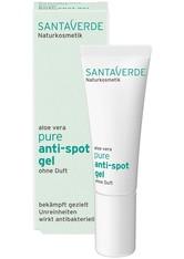 Santaverde Gesichtspflege Pure - Anti-Spot Gel ohne Duft 10ml Anti-Pickelpflege 10.0 ml